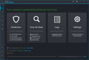 Ashampoo Anti-Virus 2020.4.1.10119 Crack + Keygen Free Download