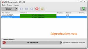 VSO Downloader 5.1.1.71 Ultimate Crack + Keygen Download